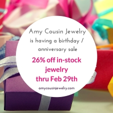 Anniversary Birthday sale 2016