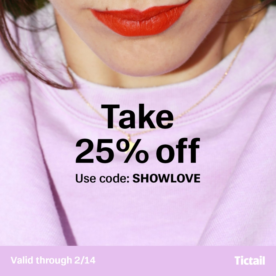 Tictail is taking ACJ global for Valentine's Day